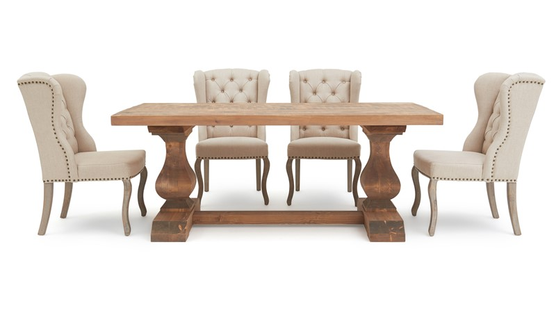 Sphinx Dining Table & 4 Theodore Chairs