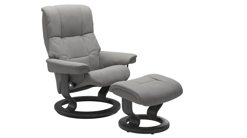 Small Stressless Mayfair Chair &  Stool - Classic base