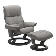 Small Stressless Mayfair Chair &  Stool -Classic base