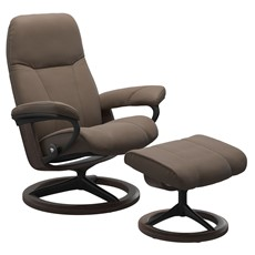 Stressless Consul Chair with Signature Base - Mole