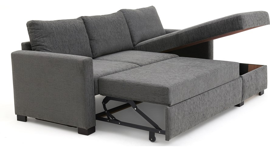 Studio Sleep Corner Sofa Bed Rhf Sterling Furniture
