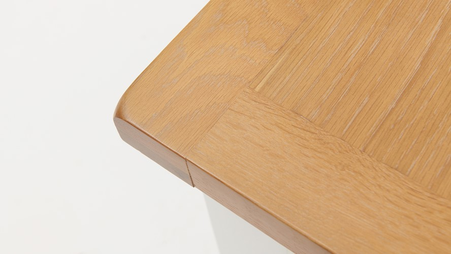 St Ives 180cm Cross Extending Table & 4 Cross Back Chairs