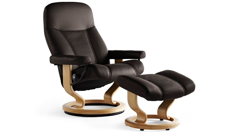 Stressless Ambassador Chair & Stool