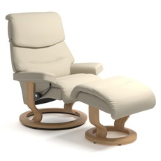Stressless Capri Medium Chair & Stool