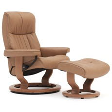 Stressless Crown Small Chair & Stool