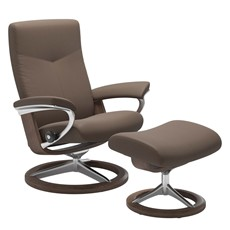 Stressless Dover Chair & Stool - Medium