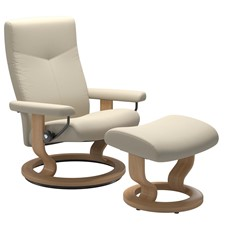Stressless Dover Chair & Stool - Small