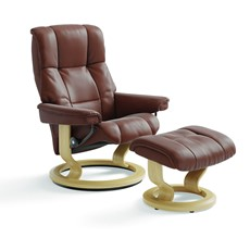 Stressless Mayfair Chair & Stool - Large