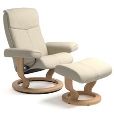 Stressless Peace Medium Chair & Stool