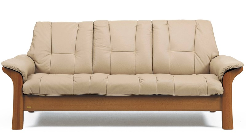 Stressless Windsor 3 Seater Low Back Sofa