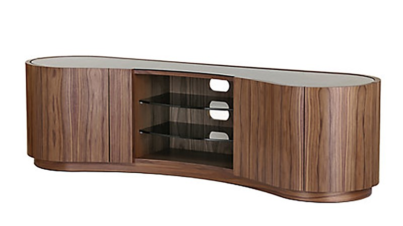 Tom Schneider Swirl Deluxe TV Media Cabinet - Large