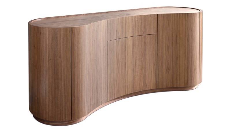 Tom Schneider Swirl Small Sideboard