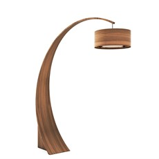 Tom Schneider Swoop Floor Lamp with Shade