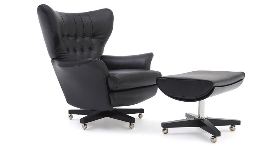 G Plan Vintage The Sixty Two Leather Armchair | Sterling ...