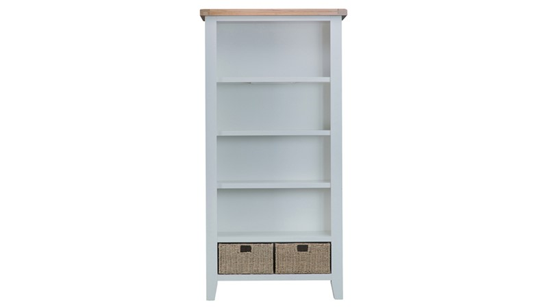 St Ives Large Bookcase - Grey