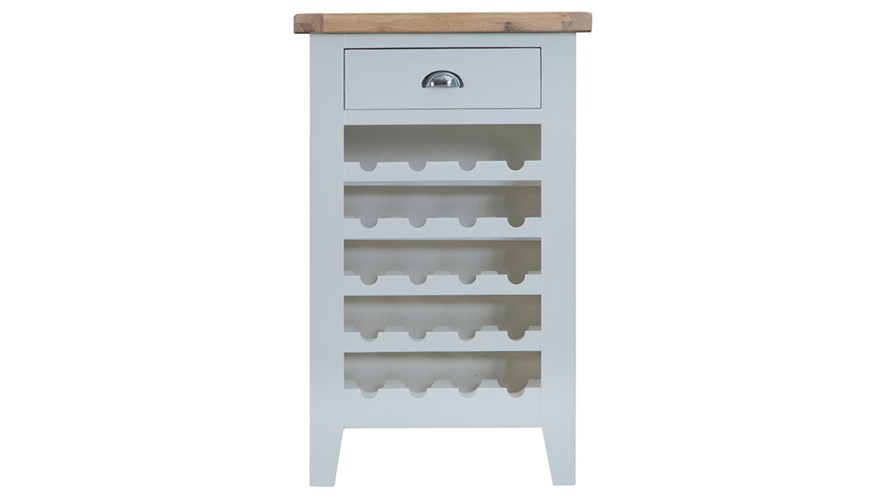 St Ives Wine Cabinet - Grey