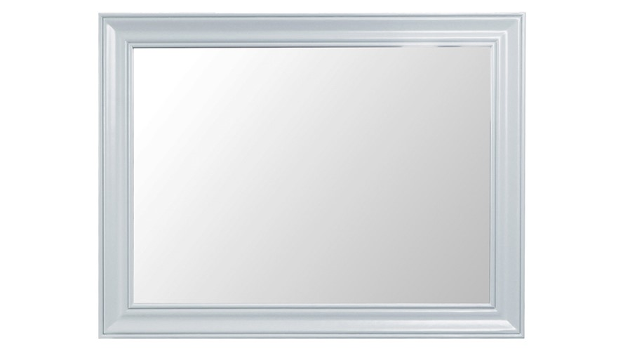 St Ives Large Wall Mirror - Grey