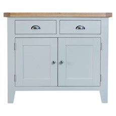 St Ives 2 Drawer 2 Door Sideboard - Grey