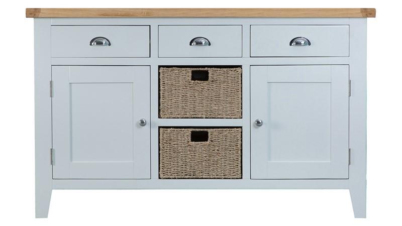 St Ives Large Sideboard - Grey