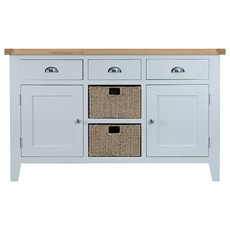 St Ives Large Sideboard - Grey