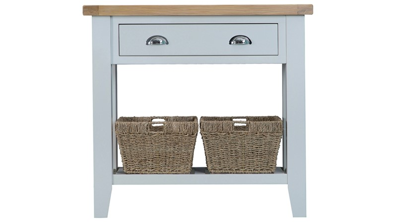 St Ives Console Table - Grey
