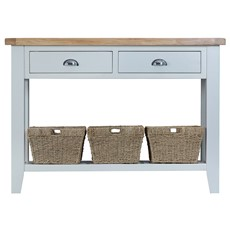 St Ives Large Console Table - Grey