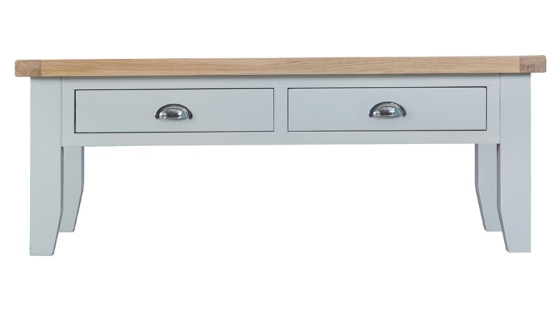St Ives Large Coffee Table - Grey