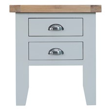 St Ives Lamp Table - Grey