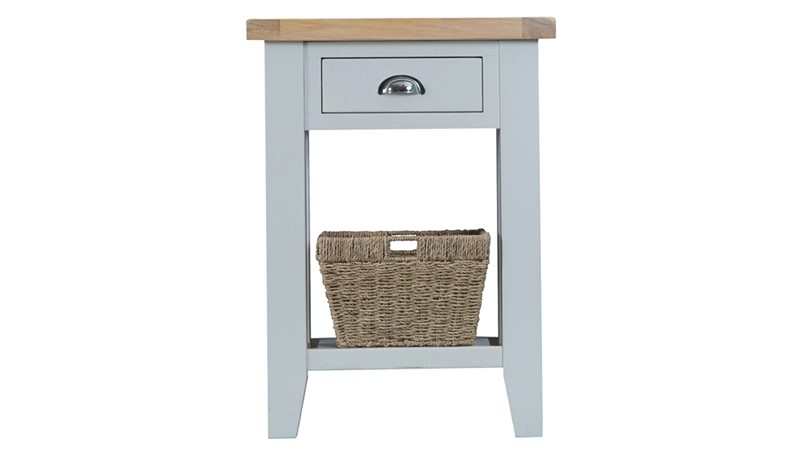 St Ives Telephone Table - Grey