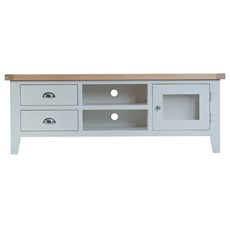 St Ives Large TV Unit - Grey