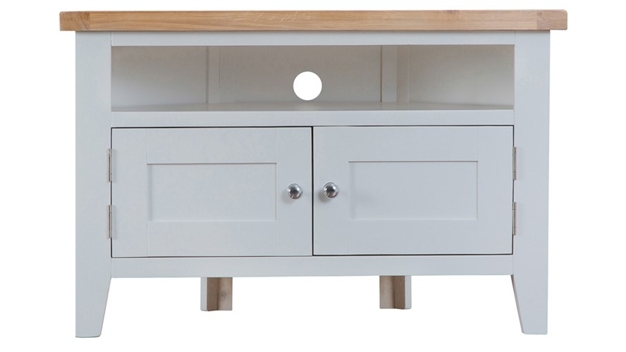 St Ives Corner TV Unit - Grey