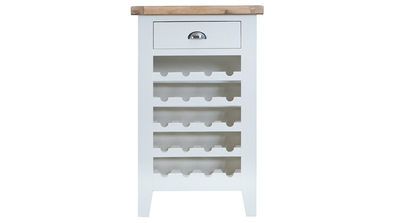 St Ives Wine Cabinet - White