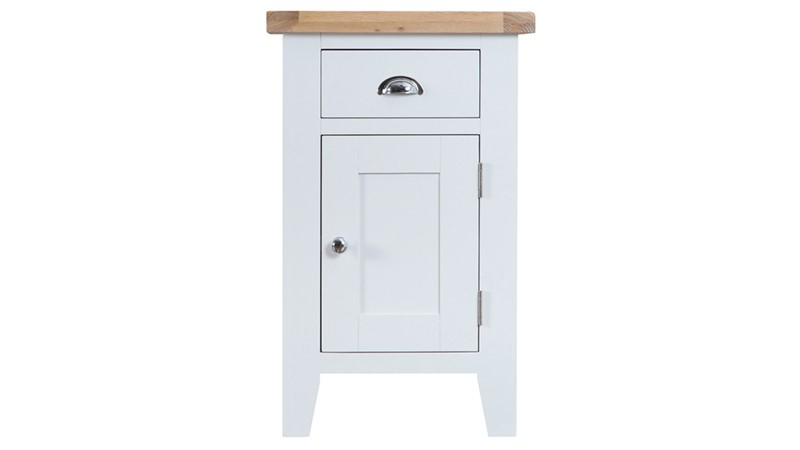St Ives Small Cupboard - White