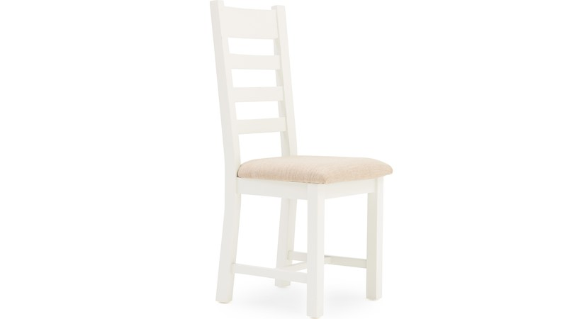 St Ives Ladder Back Dining Chair - White