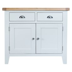 St Ives 2 Door 2 Drawer Sideboard - White