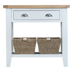 St Ives Console Table - White