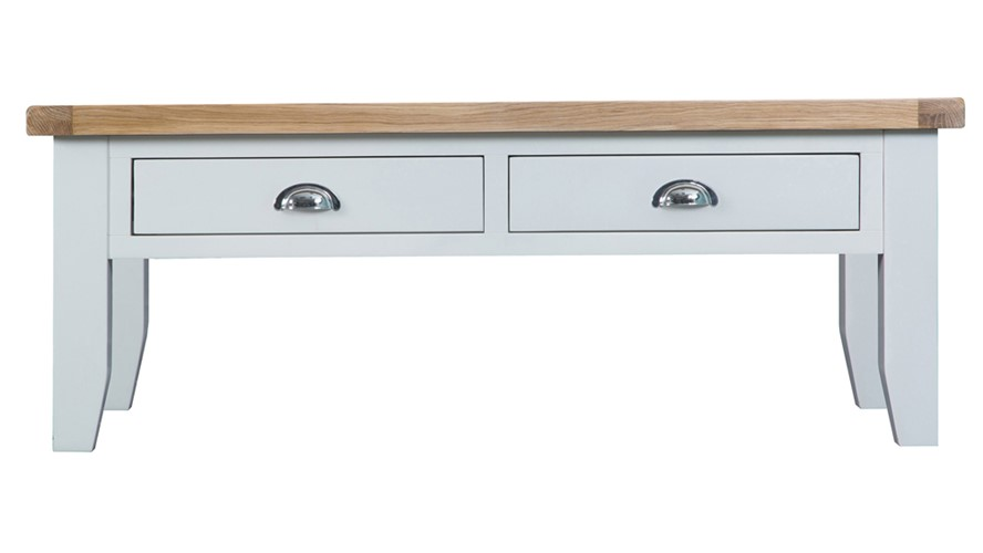 St Ives Large Coffee Table - White