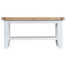 St Ives Small Coffee Table - White