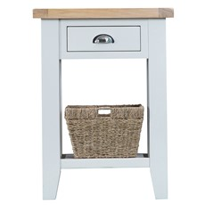 St Ives Telephone Table - White