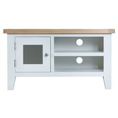 St Ives TV Unit - White