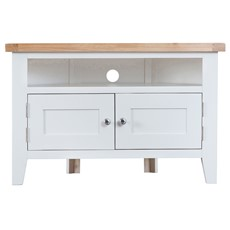 St Ives Corner TV Unit - White