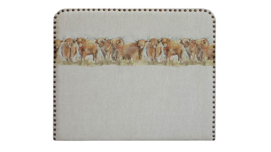 Voyage Martha Highland Cattle Headboard