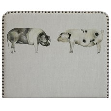 Voyage Martha Kissing Pigs Headboard
