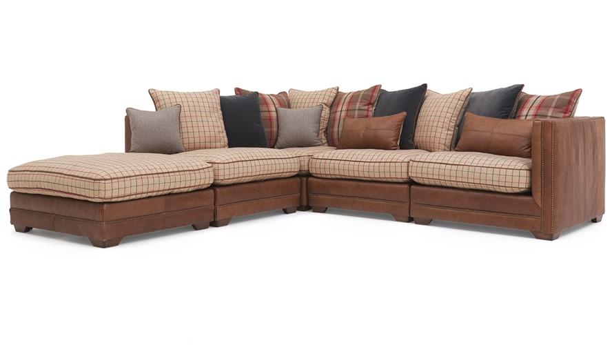 Alexander James Paradise Corner Sofa Chase Left Sterling Furniture