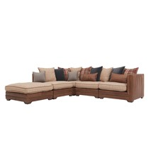 Alexander & James Wallace Corner Sofa - Chase Left
