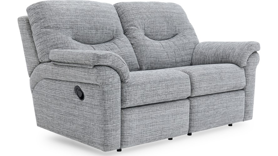 G Plan Washington Leather 2 Seater Recliner Sofa (Double)
