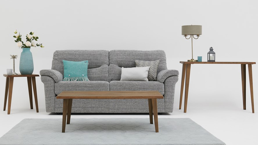 G Plan Washington Fabric 3 Seater Sofa