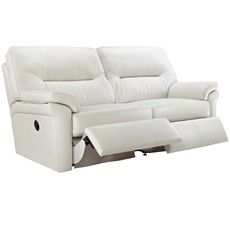 G Plan Washington Leather 3 Seater Recliner Sofa (Double)