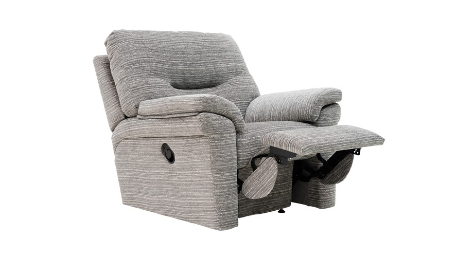 G Plan Washington Fabric Recliner Chair