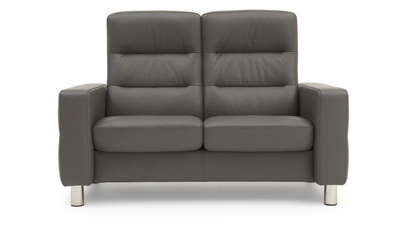Stressless Wave High Back 2 Seater Sofa